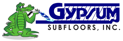 Gypsum Subfloors - Your licensed Maxxon Gyp-Crete applicator in the greater New Orleans area